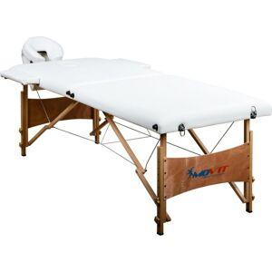 MOVIT Hordozható masszázságy MOVIT® Deluxe 185 x 80 cm - fehér