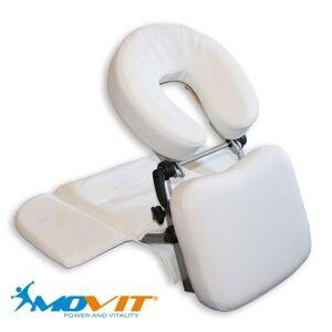 Tuin Hordozható masszázs fejtámasz MOVIT® - fehér
