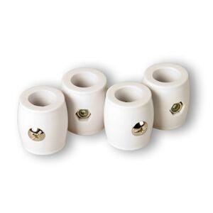 TUNIRO Ütköző gyűrű kapus rúdra - 4 db, 15,9 mm
