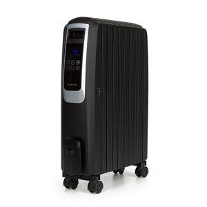 Klarstein Thermaxx Noir, olajradiátor, 2500 W, 10 - 30 °C, 24-órás időzítő, távirányító, fekete
