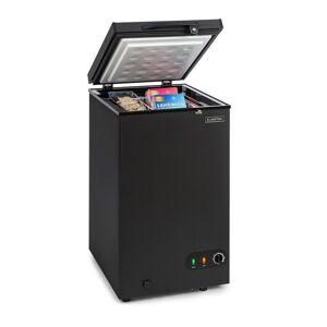 Klarstein Iceblokk 80, fagyasztóláda, szabadon álló, 78 literes kosár, zárható, A+ energiahatékonysági osztály, fekete