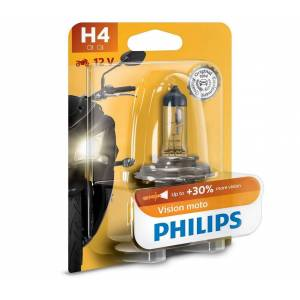 Philips Motor izzó Philips VISION MOTO 12342PRBW H4 P43t