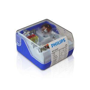 Philips 55007SKKM - Készlet tartalék autó izzók H7/H1 12V P2288