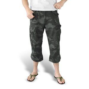 SURPLUS 3/4-es férfi rövidnadrág - Vintage - NIGHTCAMO - 07-5597-42