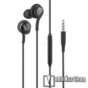 Samsung AKG sztereo headset - 3,5mm Jack, mikrofon, felvevő gomb, hangerõ szabályzó, 1,2m vezetékkel - FEHÉR - EO-IG955 - GYÁRI