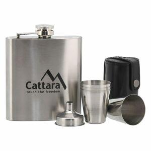 Cattara ajándék laposüveg tartozékokkal