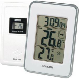 Sencor SWS 25 WS Hőmérő vezeték nélküli él, érzékelővel, fehér