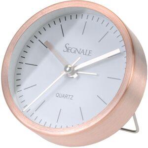 4-Home Segnale ébresztőóra, rézszínű, 9 x 2,5 cm