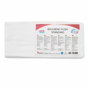4-Home New Baby Standard pamut pelenka, 60 x 80 cm, 10 db-os szett