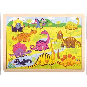 Bino Dinoszauruszos Puzzle,