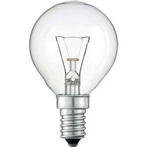 Hagyományos gömb izzó 60W E14 átlátszó