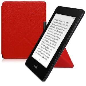 kwmobile Amazon Kindle Paperwhite 3 flip tok - piros