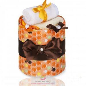 LUX pelenka torta, kicsi Narancs Mancsok