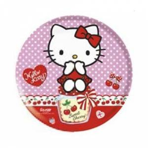 Sanrio Hello Kitty lapostányér, melamin