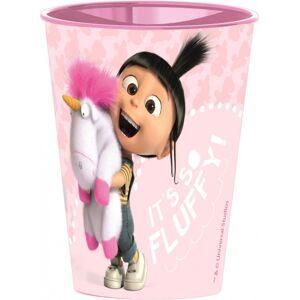 Minions, Agnes & Fluffy Unicorn pohár, műanyag