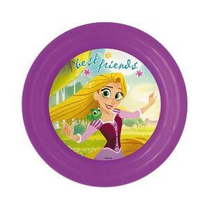 Disney Princess, Hercegnők lapostányér, műanyag 3D