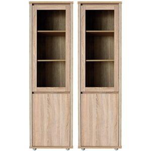 Délity Bútor Free FR3Ü Nyitott szekrény 1 üvegajtós, 1 ajtós, balos és jobbos kivitelben több színben