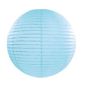 EU Papír lámpa,  kék, 45 cm