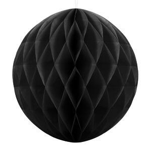 PartyDeco Gömb lampion 10 cm,  fekete