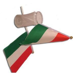 Kína Magyar zászló 20*14,5 cm