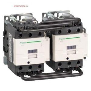 Schneider Electric, TeSys D, LC2D80F7, Forgásirányváltó magneskapcsoló, 37kW/80A (400V, AC3), 127V AC 50/60 Hz vezerlés, 1Z+1Ny, csavaros csatlakozás, TeSys D Everlink (Schneider LC2D80F7)
