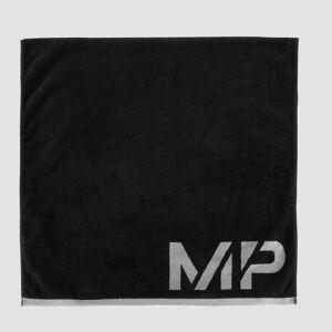 Myprotein MP Performance nagyméretű törölköző - Fekete