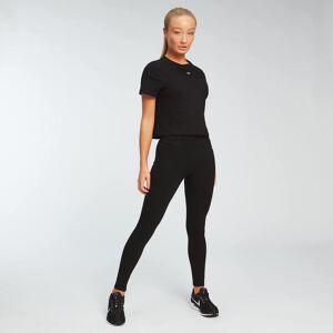 Myprotein MP Essentials női Crop póló - Fekete - XXS