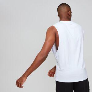 MP Luxe Classic mély karkivágású férfi Tank Top trikó - Fehér - XXXL