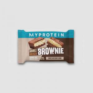 Myprotein Double Dough Brownie (Minta) - 60g - Cookies and Cream