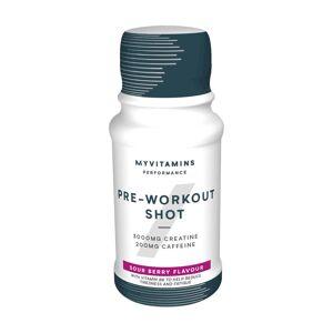 Myvitamins Pre-Workout Shot - Sour Berry