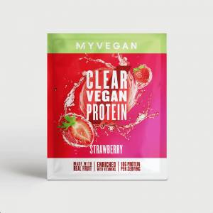 Myvegan Clear Vegan Protein (minta) - 16g - Eper