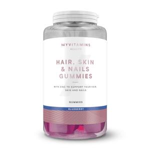 Myvitamins Hair, Skin and Nails Gummies Haj Gumivitamin - 60servings - Áfonya