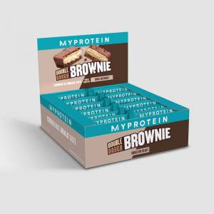 Myprotein Double Dough Brownie - 12 x 60g - Cookies and Cream