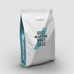 Myprotein Impact Native Whey Isolate - 2.5kg - Natural Banana and Cinnamon