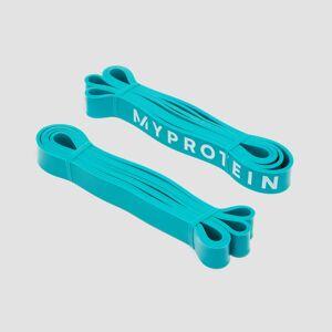 Myprotein Ellenállásos gumikötél szalag 1 pár (11-36kg) - Kék
