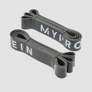 Myprotein Ellenállásos gumiszalag - Dark Grey / 23-54Kg (Pair)