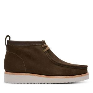 Clarks Ankle boots - Wallabee Hike Olive 44.5