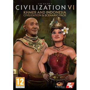 2K Games Civilization 6 - Khmer and Indonesia Civilization & Scenario Pack (DLC) (PC - digitális kulcs)