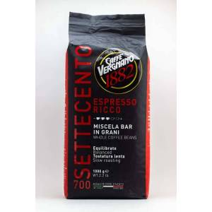 Caffé Vergnano 700 Espresso Ricco szemes kávé (1kg)