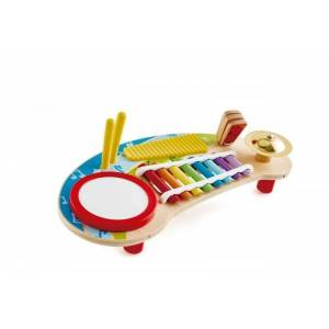 Hape Multifunkciós xilofon dobbal