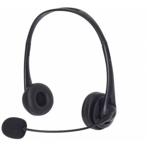 Sandberg USB Office Headset mikrofonnal, fekete