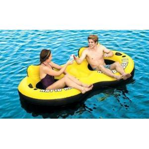 BestWay kétszemélyes úszó fotel (251x132cm)