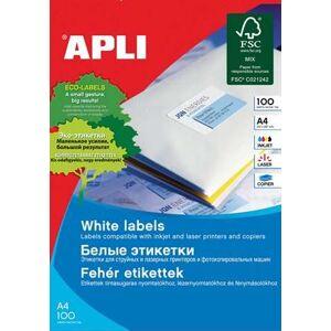 APLI Etikett, univerzális, 48,5x16,9 mm, APLI, 6800 etikett/csomag
