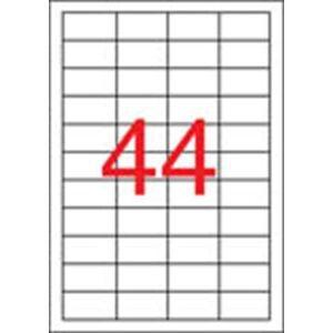 APLI Etikett, univerzális, 48,5x25,4 mm, APLI, 22000 etikett/csomag