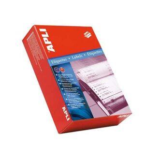 APLI Etikett, mátrixnyomtatókhoz, 1 pályás, 101,6x48,7 mm, APLI, ...
