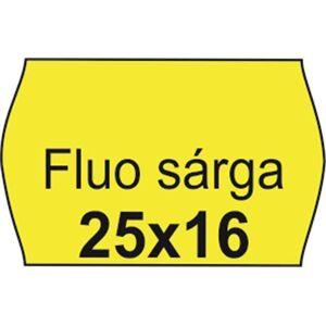 Árazószalag, 25x16 FLUO citrom