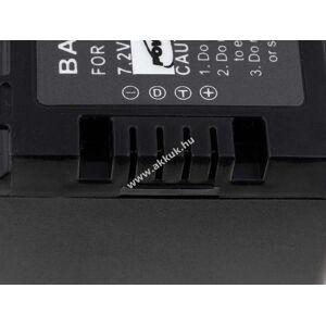 Powery Helyettesítõ akku Panasonic HDC-HS900