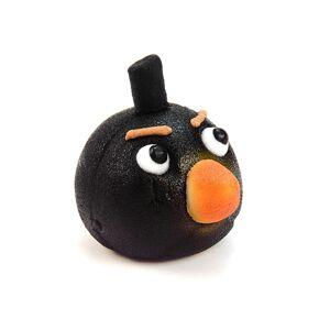 Frischmann Angry Birds Black - marcipán torta figura - Frischmann