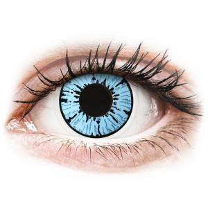 Maxvue Vision ColourVUE Crazy Lens Blizzard kék dioptria nélküll (2 db lencse)