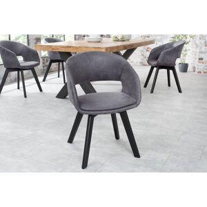 LuxD Stílusos szék Colby antik szürke